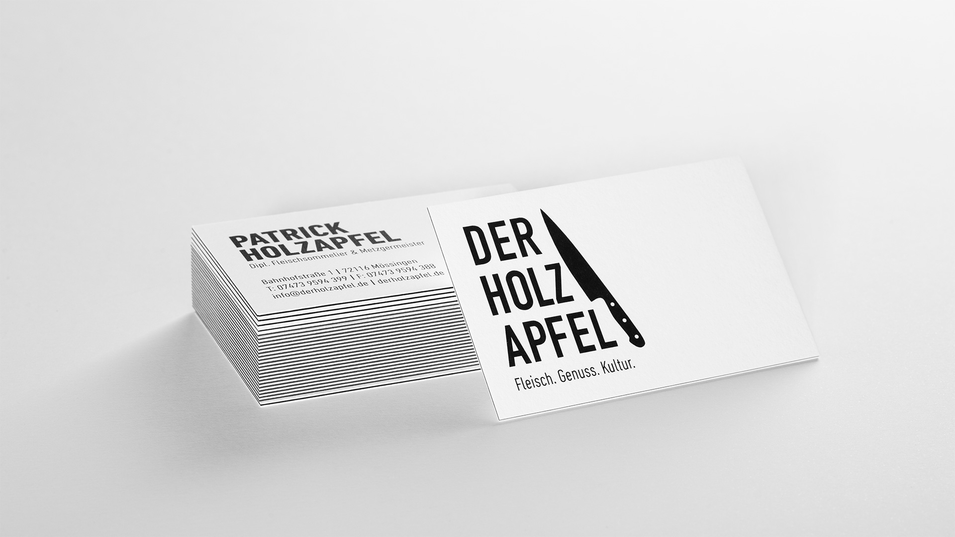 Der Holzapfel Brand Development And Website Launch Die